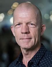 Portræt af Lars Haahr, lektor hos Aarhus BSS